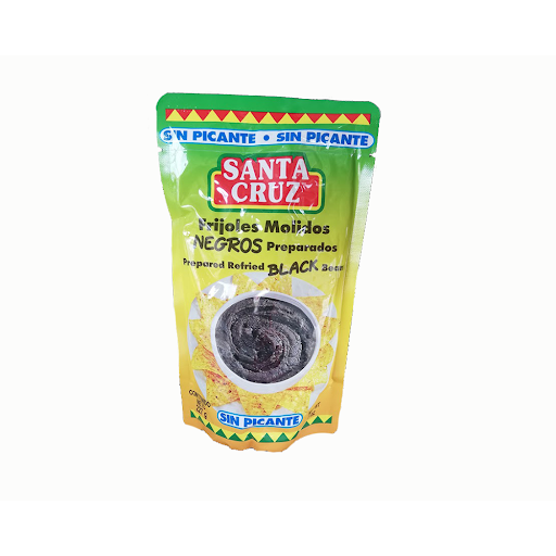 Santa Cruz Mashed Beans 8 oz FLEXIBLE (without spicy)