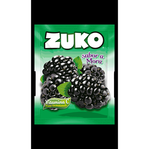 Zuko Instant blackberry Flavor Drink 35g.