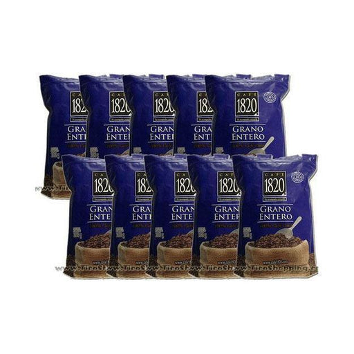 10-pack Cafe 1820 Coffee 2.2 lb Whole Bean