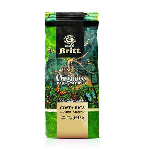 Cafe Britt Organic Coffee 12oz