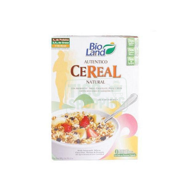 Amaranto with Cocolate Cereal by Bioland 6.4oz