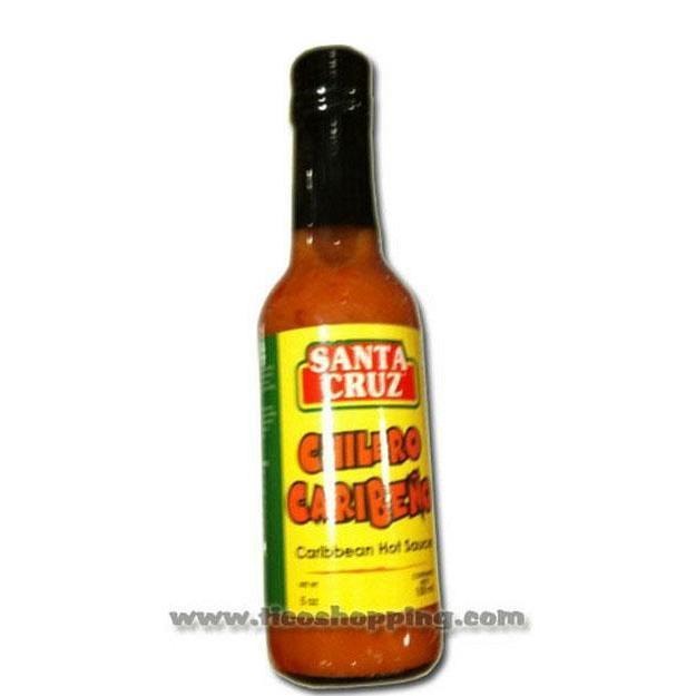 Chilero Caribeno Sauce Santa Cruz 5oz