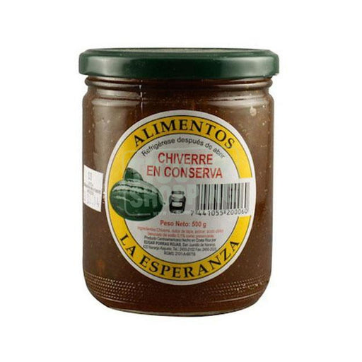 Chiverre sweet jelly by La Esperanza 1 lbs
