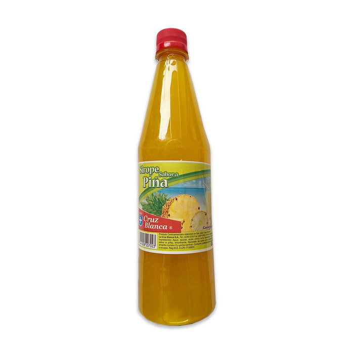 Pineapple Syrup by Cruz Blanca 24 oz