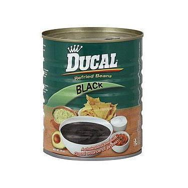 Ducal Black Mashed Beans 29 oz
