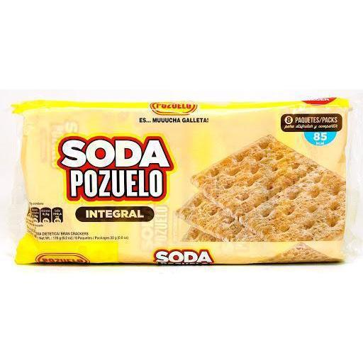 Pozuelo Sodas (Whole Grain Crackers) 8u
