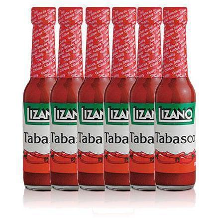 Lizano Tabasco 6-pack 2.3 oz