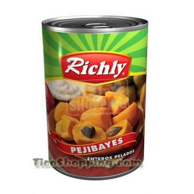Canned Palm Peaches by Richly 14.5 oz (pejibayes)