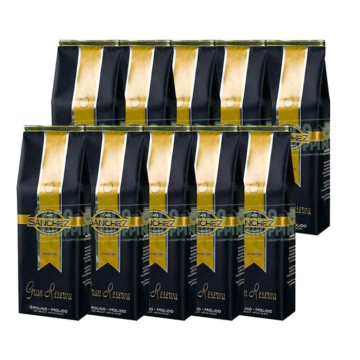 10-pack Cafe Sanchez Great Reserve (Gran Reserva) Coffee 1 lb (ground)