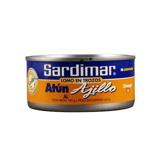 Tuna with Garlic Sardimar 165g
