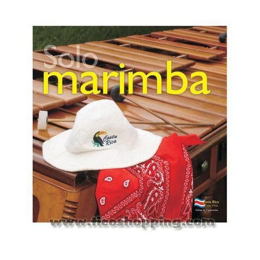 Solo Marimba Music CD