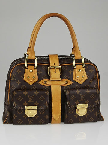 LOUIS VUITTON MONOGRAM MANHATTAN GM SATCHEL- Fashion Flair Bazaar - Eco-Friendly Fashion - 1