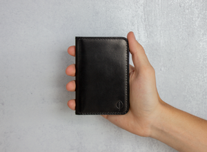 Brooks St. | Vertical Leather Wallet