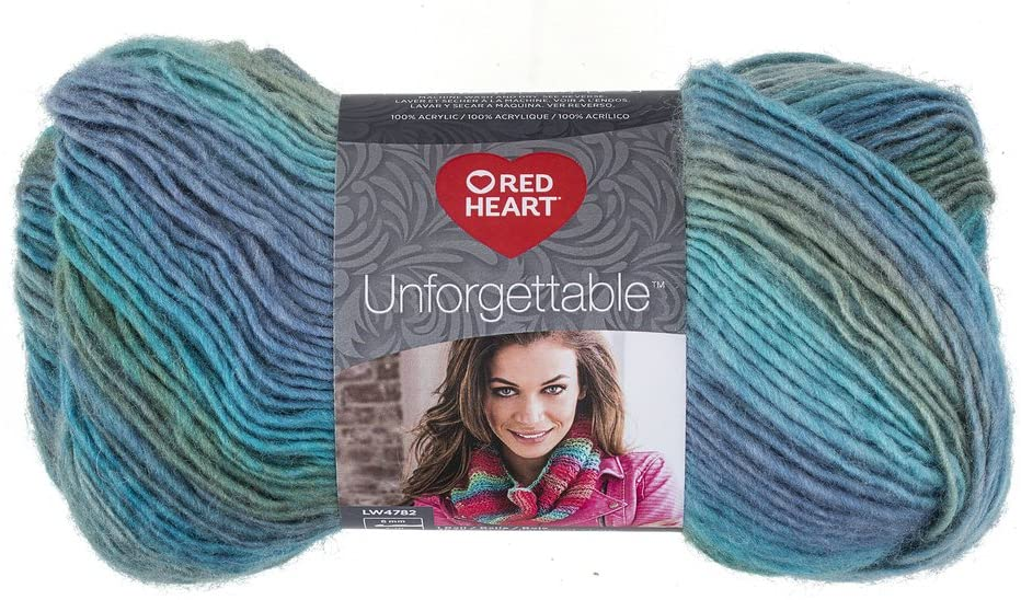 Red Heart Unforgettable Yarn - Tidal