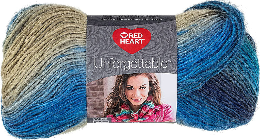 Red Heart Unforgettable Yarn - Regata