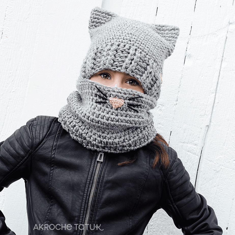 Ready-to-wear - Cat kit in gray