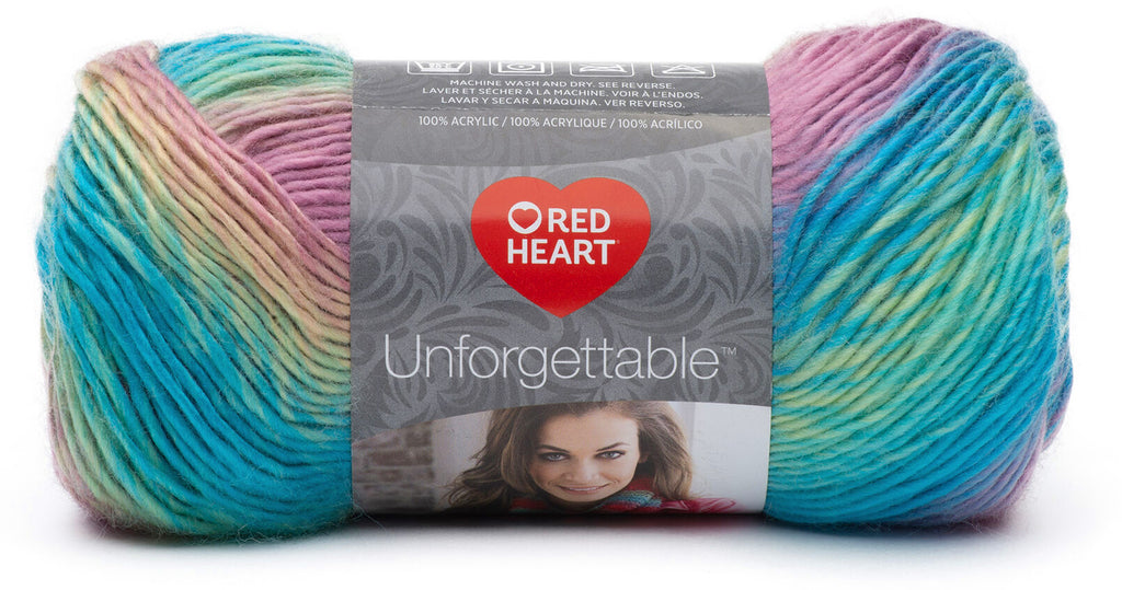 Red Heart Unforgettable Yarn - Candied