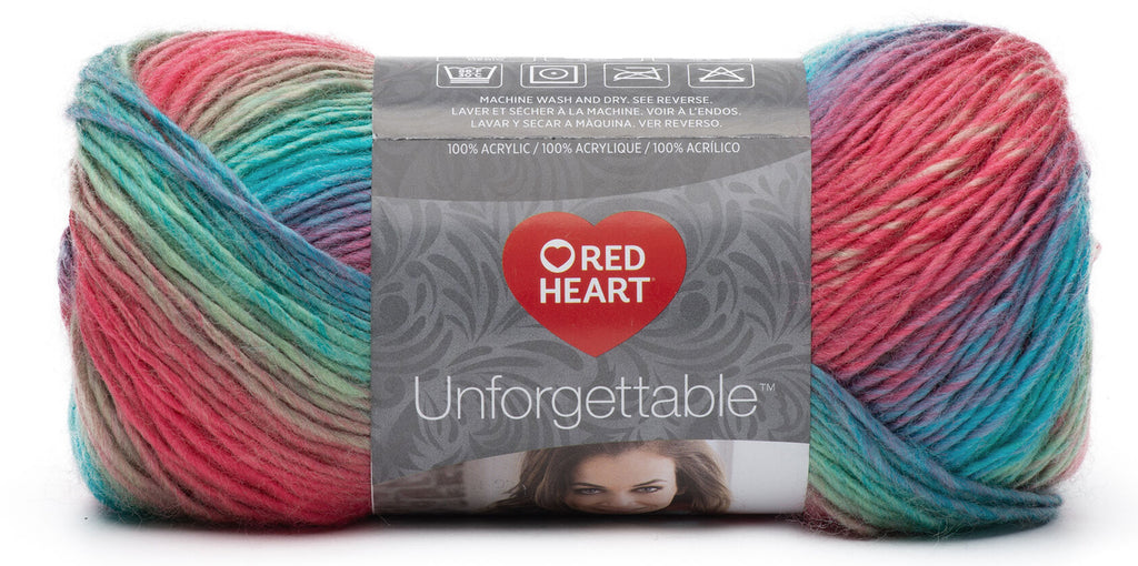 Laine Red Heart Unforgettable - Perroquet