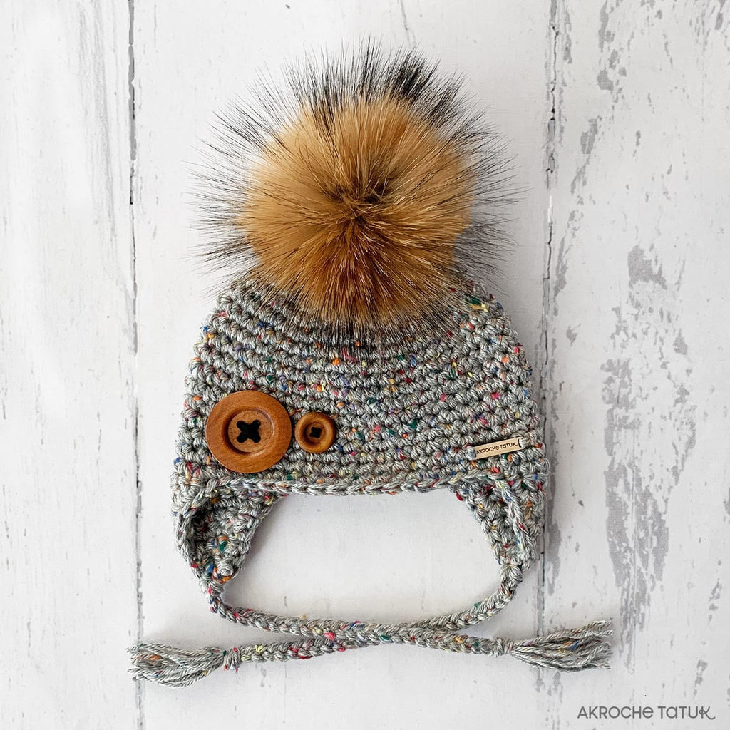Ready-to-wear (Children) - Boreal hat in Mount rainier tweed