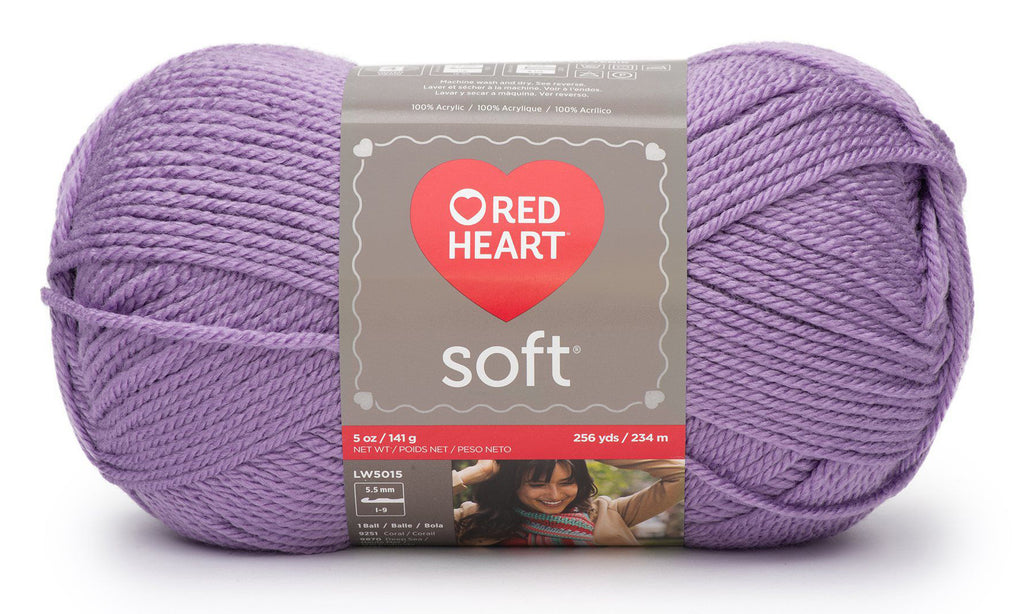 Laine Red Heart Soft - Lilas