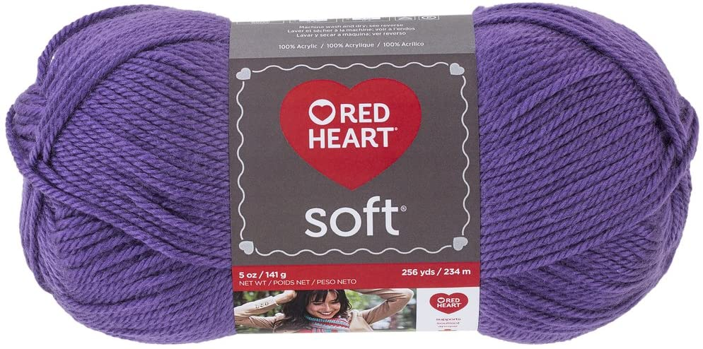 Red Heart Soft Yarn - Lavender