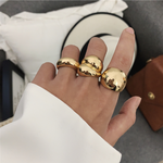 Load image into Gallery viewer, Big Personnality Statement Ring