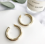 Load image into Gallery viewer, Fancy All Day Everyday Hoop Earring