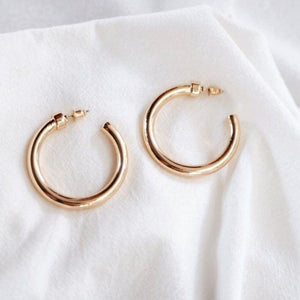 Fancy All Day Everyday Hoop Earring