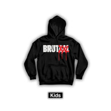 Load image into Gallery viewer, BRUTXXL HOODIE KIDS BLACK