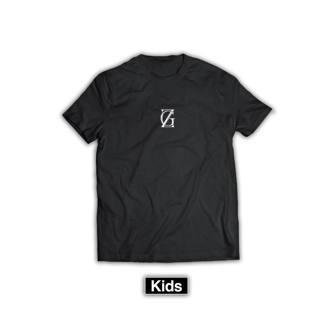 ZG BOX LOGO T-SHIRT KIDS BLACK