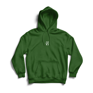 ZG EMBROIDED HOODIE GREEN (AVAILABLE FOR DELIVERY 07/01/2021)
