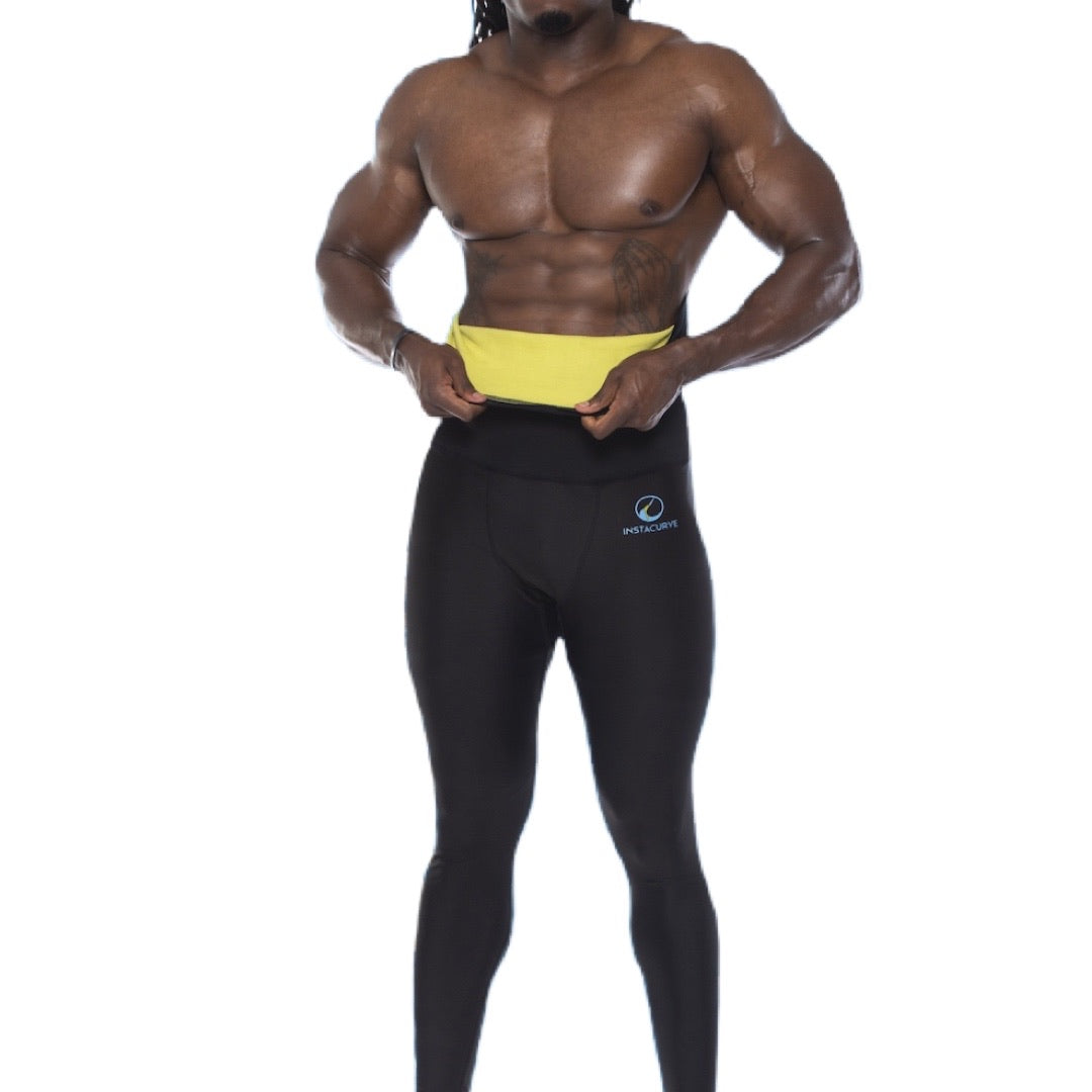 High Waist Sauna Leggings 503 (MEN)