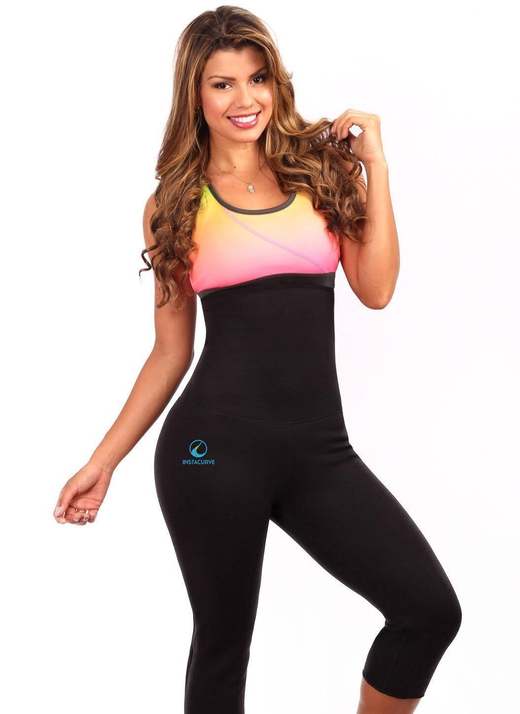 High Waist Sauna Leggings 504 - Insta Curve