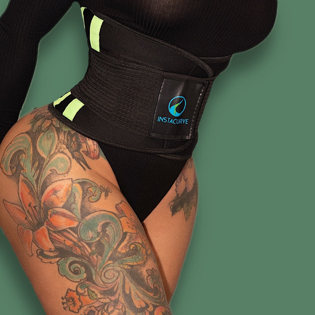 InstaCurve Waist Trimmer Sweat Belt 512