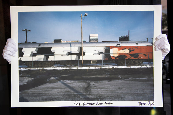"""LEE- Detroit Art Train"" by James Prigoff"