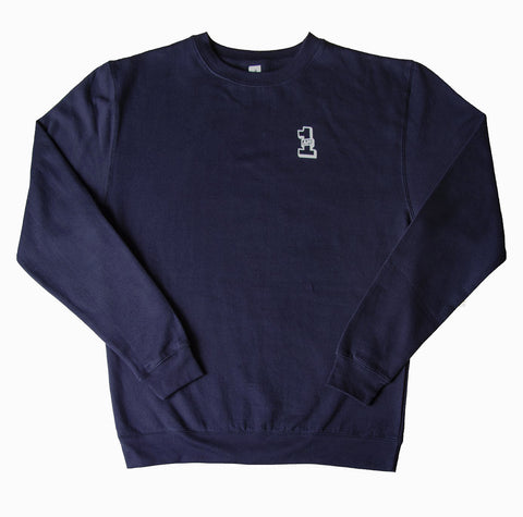 1AM Crewneck Sweater - Navy