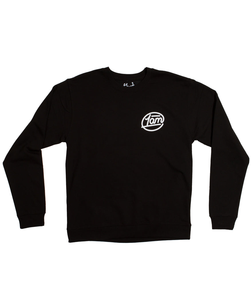 1AM Circle Pullover - Black