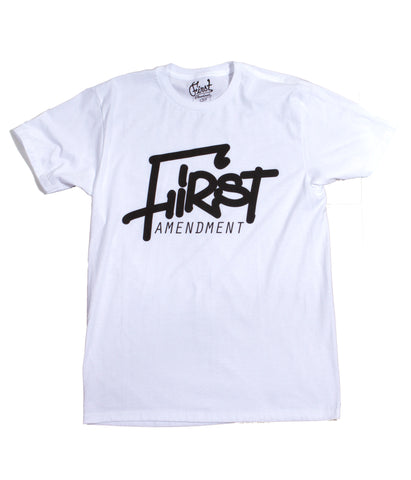 First Mop Tag T-Shirt - White