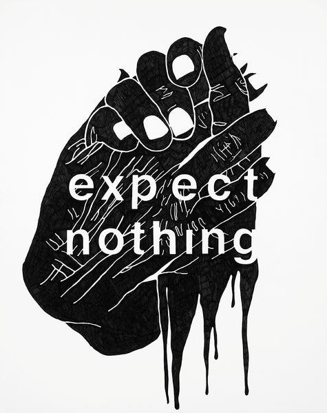 """Expect Nothing"" Print - D Young V"