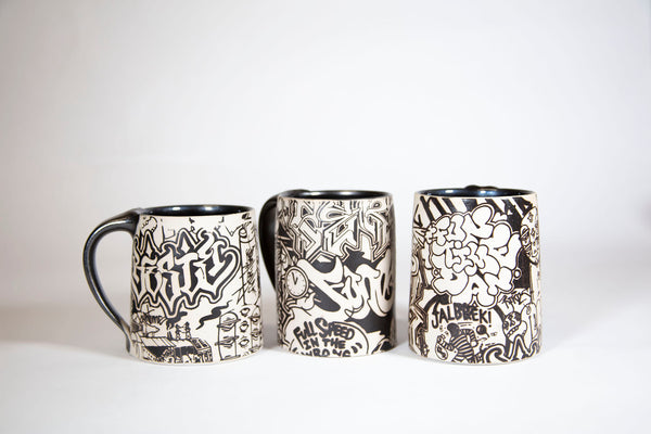 """Glimpses into the Human Soul"" mug by Daniel Velasquez"