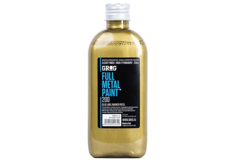 Grog Full Metal Paint 200ml - Gold