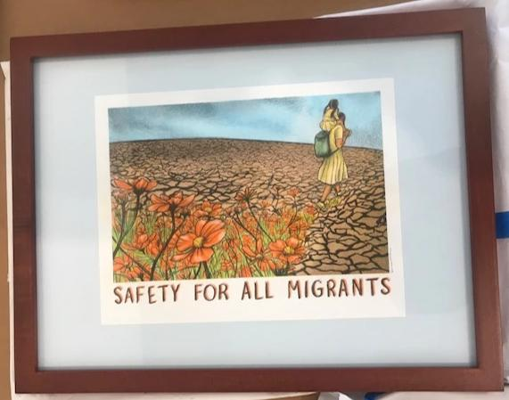 """Safety For All Migrants"" - Sanaa Khan"