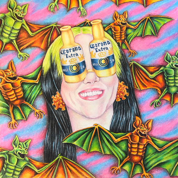 """Billie Eilish and the Corona Virus"" by Cahill Wessel"