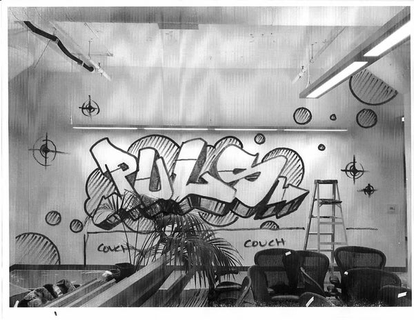 50% Deposit for Puls custom graffiti mural