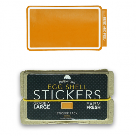 Orange Line Border Pack - 80pcs