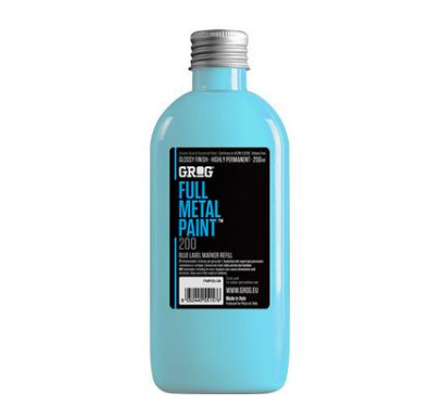 Grog Full Metal Paint 200ml - Blue