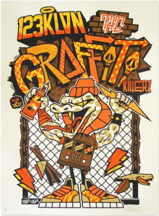 """Graffiti Killers"" by 123 Klan"