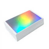 50 Holographic Blanks by Blankslaps