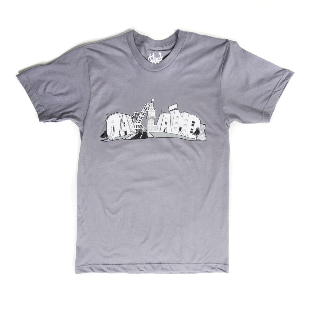 Oakland T-Shirt - Grey