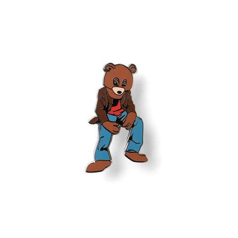 Dropout Bear Enamel Pin